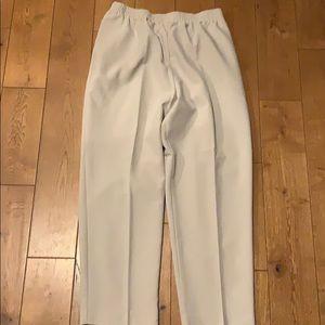 Pants - Allison Daley 14P cream pants